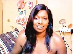 Indian housewife Rashmi performing like cam girl